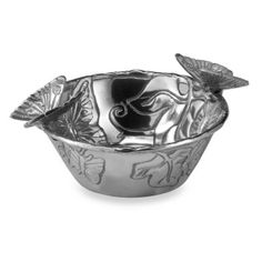 Arthur Court Designs Butterfly Nut Bowl - BedBathandBeyond.com