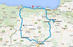 Op zoek naar een autoroute door Noord-Spanje? Ik stippelde een roadtrip voor je uit!