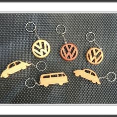 VW key rings