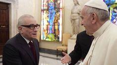 Martin Scorsese y el Papa Francisco / Foto: L'Osservatore Romano