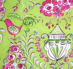 Fabric on pinterest amy butler shabby chic fabric and for Dena designs tea garden