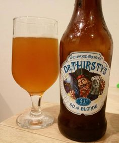 Dr Thirsty's No. 4 Blonde Wychwood Brewery