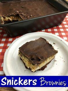 ... Brownies on Pinterest | Brownies, Fudge Brownies and Peanut Butter