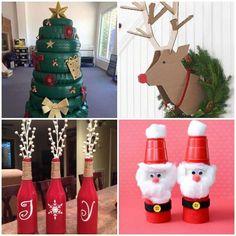 Christmas Fashion, Christmas Crafts, Xmas, Christmas Ornaments, Christmas Tree Decorations, Holiday Decor, Walnut Shell, Natal Diy, Party Planning