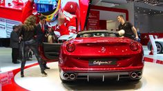 Ferrari California The Volkswagen Golf may be the favorite car model of the Swiss but during the first six months of 2014, 11 new Ferrari California supercars were registered in Switzerland versus 7 (seven) VW Jettas!
