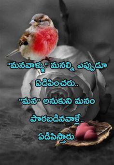 Friendship Quotes In Telugu, Love Quotes In Telugu, Motivational Picture Quotes, Famous Love Quotes, Inspirational Quotes With Images, Bible Quotes Images, Life Quotes Pictures, Real Life Quotes, Reality Quotes