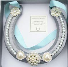 Wedding Bridal Lucky HorseShoe Real Shoe Gift and Keepsake #WightIsleHorseshoes