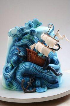 Poseidon cake... Yummyyy