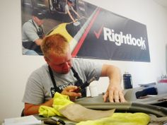 Here's a shot from day 3 of our Interior Repair Class. Rightlook uses the latest techniques and equipment in the 3-day training course. #interiorrepair #interiorrepairtrainingclass #rightlook #training