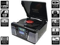 Musiikkikeskus(LP;CD,MP3,USB) Ricatech RMC100 musta 5 in1 musiikkikeskus - Konerauta.fi