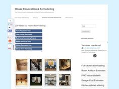 200 Ideas for Home Remodeling