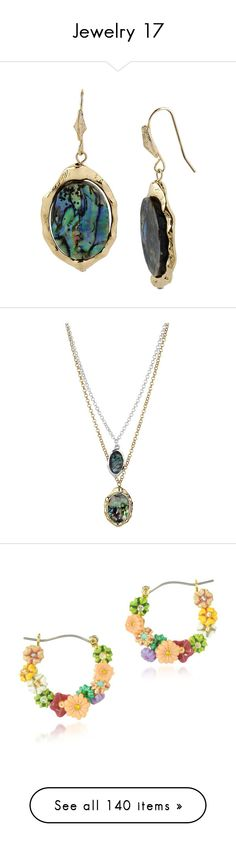 """""""Jewelry 17"""" by trufflelover on Polyvore featuring jewelry, earrings, abalone, robert lee morris earrings, seashell jewelry, seashell earrings, shell pendant, abalone shell earrings, necklaces and abalone jewelry"""