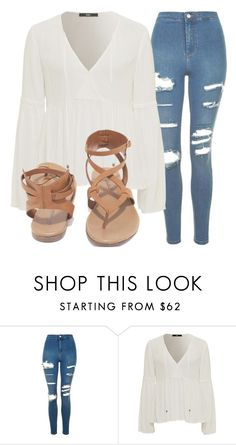 """Outfit #1448"" by lauraandrade98 on Polyvore featuring moda, Topshop y Breckelle's"