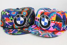 Tropical BMW Snapback  Wild Fresh Prince Style by KeyAcquisitions, $50.00