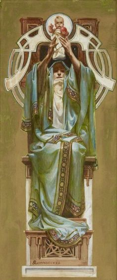 The Rosicrucian Order (1902) by J.C. Leyendecker