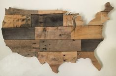 USA Pallet Wood Map | Wooden Designs By Stephen | Flickr