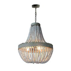 Pendant lamp antique retro loft vintage rustic round wooden beads with LED for hotel living room bar cafe shop lights Cool Chandeliers, Wood Bead Chandelier, Round Chandelier, Kitchen Pendant Lighting, Kitchen Pendants, Pendant Light Fixtures, Pendant Lamps, Chandelier Lighting, Living Room Bar