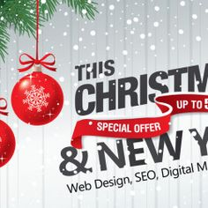 At BOOSTrust digital marketing services, we're proud to offer Christmas and New Year discounts of on website design & digital marketing package Christmas And New Year, Christmas Bulbs, New Year Offers, Digital Marketing Services, Infographic, Web Design, Holiday Decor, Infographics, Design Web