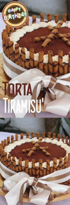 Torta tiramisù Cake Recipes, Dessert Recipes, Desserts, Italian Cake, Biscotti, Oreo Cheesecake, Italian Recipes, Cupcake Cakes, Cupcakes