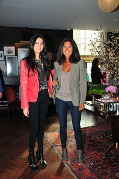 Ceylan Capa and Sebnem Capa attending The PINKO Invasion presentation at the Soho House in Istanbul
