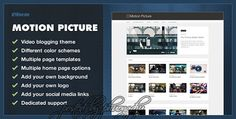 ThemeForest - Motion Picture v2.0.0 - WordPress Video Blogging Theme