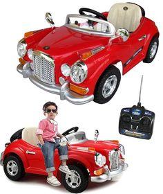 Rolls Royce retrô mini carro elétrico infantil bateria controle remoto brinquedo criança moto jipe