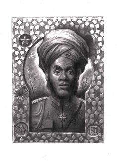 """Othello, the Moor of Venice"" graphite on paper 5""x7"" An illustration of the famous Shakespearean character, done by M. Scott Hammond. See his other work at: www.mscotthammond.com Othello, Retro Futurism, Graphite, Venice, Sci Fi, Ink, Fantasy, Statue, Paper"