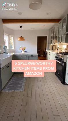 Cottage Kitchen Cabinets, Outdoor Kitchen Cabinets, Kitchen Items, New Kitchen, Kitchen Decor, Kitchen Office, Semarang, Layout Design, Best Amazon Buys