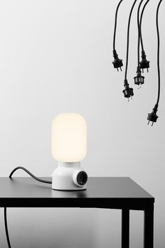 Plug Lamp by From Us With Love for Ateljé Lyktan
