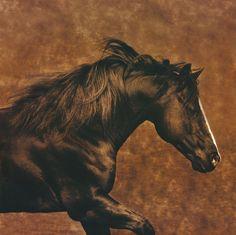 Eastward Gallop by Robert Dawson - Canvas, Wood, Acrylic, Aluminium - ArtToCanvas