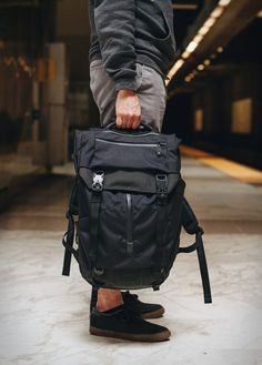 Boundary is a new brand that grew from an intention to make highly functioning products through technical innovation. Their new Modular Backpack is the perfect example, with adaptable storage and dynamic features, it is the ideal solution for daily u