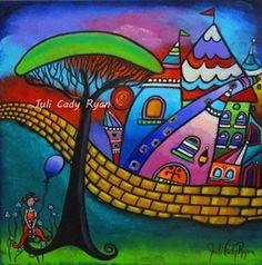 Paintings - Juli Cady Ryan's Whimsical Fantasy Art