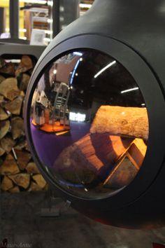 Fireplace Eye! Salon de l'Habitat de Clermont-Ferrand 21 > 24 mars 2014, Grande Halle d'Auvergne. Aménagement - Décoration - Design - Maison - Jardin