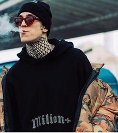 Boy Tattoos, Man Smoking, Hot Boys, Rap, Nike, Guys, Celebrities, Hot Men, Singers