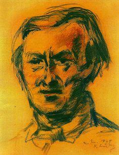 Friedrich Ludwig - Portrait, 1949 Museum, Portrait, Art, Black Forest, Culture, Men Portrait, Portrait Illustration, Kunst, Museums