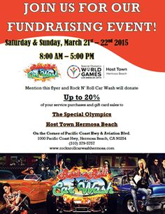 Host Town Hermosa Fundraiser @ Rock & Roll Car Wash today! http://southbaybyjackie.com/The-Scoop.php
