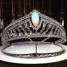 Stunning opal tiara