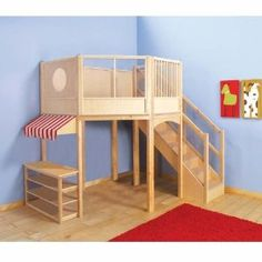 Guidecraft Play Market with Loft