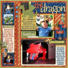 The Dragon using Words and Pictures Templates