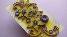 Quilling Greeting Card  Wedding  Anniversary  by Evashop74 on Etsy