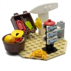 Image result for lego beach