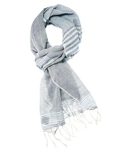 ASOS+Woven+Scarf+With+Block+Stripes