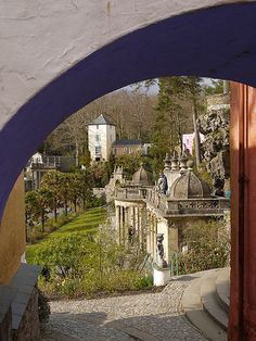 Portmeirion William Ellis, Laundry Hacks, North Wales, Places To See, Aurora, Scotland, Ireland, Beautiful Places, Landscapes