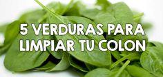 5 verduras para limpiar tu colon  http://nutricionysaludyg.com/salud/colon-verduras-limpiar/