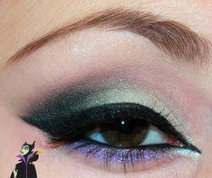 Luhivy's favorite things: Disney Series : Maleficient Inspired Makeup Look