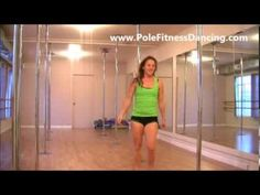 Home Pole Dancing Lessons Video 2: Basic Pole Moves For Beginners Series - YouTube