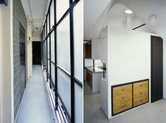 Le Corbusier's Studio-Apartment at Molitor apartment block, 24, rue Nungesser et Coli, Paris
