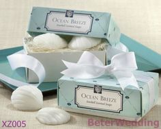 16 boîte, 32 pc seashell savons de douche de bébé faveur, souvenirs de mariage xz005   2013 New Arrival Wedding Gifts, Pratical Party Favors at BeterWedding, Shanghai Beter Gifts Co Ltd. Retail http://www.aliexpress.com/store/512567 Wholesale mail to BeterWedding@Gmail.com