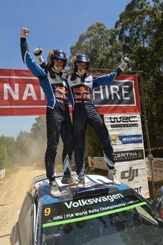 Andreas Mikkelsen i Anders Jæger - Zwycięzcy Rajdowych Mistrzostw Świata #volkswagen #volkswagenteam #motorsport #fia #WRC #cars #mikkelsen #jaeger #australia