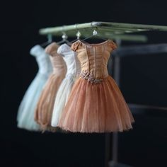 Miniature Dresses.